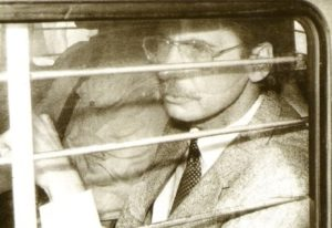 Арест маньяка Денниса Нильсена.