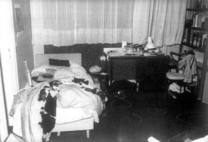 Комната людоеда Иссеи Сагавы, где произошло убийство.