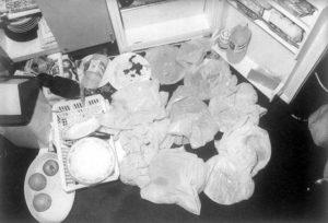 Улики из холодильника людоеда Иссеи Сагавы.