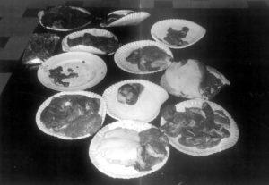 Блюда приготовленные людоедом Иссеи Сагавой из человеческой плоти.