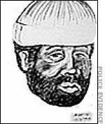 Маньяк «Воскресный убийца», фоторобот из полицейского архива.
