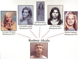 Жертвы маньяка Родни Джеймса Алкала.
