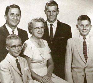 Семья будущего серийного убийцы Чарльза Уитмена.