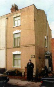 Дом в котором жили убойные любовники Фред и Роза Уэсты.