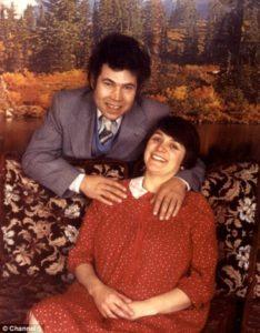 Убойные любовники Фред и Роза Уэст.