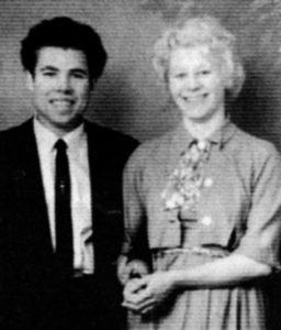 Серийный убийца Фредерик Уэст с женой Кэтрин Костелло.