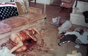 Погибшая актриса Шарон Тейт.