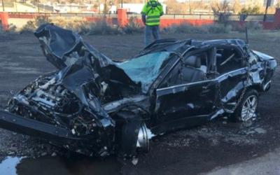 Скандалы и криминал: Подросток съехал с обрыва на автомобиле и остался жив