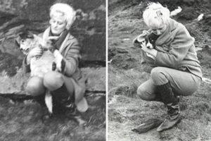 Серийная убийца Майра Хиндли с любимой собачкой.