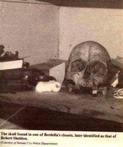Остатки жертвы Роберта Шелдона.