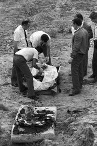 Фото с места преступления маньяка Франциско Эскалеро.