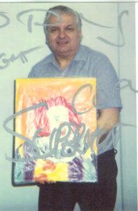 Последняя работа маньяка Джона Гейси фото сделано за пять недель до казни.