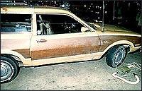 Автомобиль маньяка Уэстли Додда.
