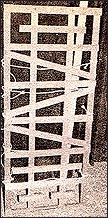 Самодельная стойка для пыток - маньяка Уэстли Додда.
