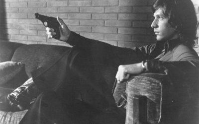 Фильмы про маньяков: Четыре мухи на сером бархате. 1971 год. Триллер, криминал, детектив, серийный убийца.