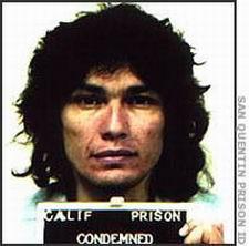 Фото маньяка Ричарда Рамиреса из полицейского досье.
