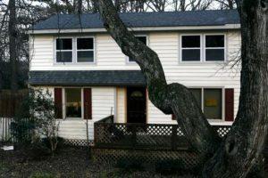 Дом в котором проживал маньяк Гэри Хилтон.