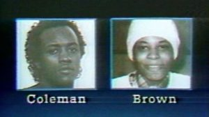 Серийный убийца Элтон Коулман и его подружка Дебра Браун.