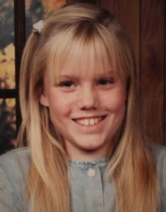 Джейси Ли Дугард - девочка, которую похитил маньяк.