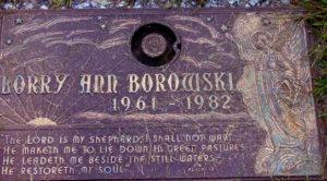 Фото могилы жертвы маньяка Робина Гечта