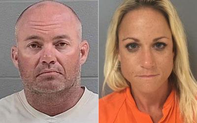 Скандалы и криминал: Заместитель шерифа Деннис Перкинс и его жена учитель, были арестованы шерифом и командой спецназа