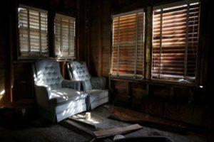 Убежище, которое облюбовал серийный убийца Даррен Деон Ванн