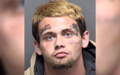 Скандалы и криминал: Мужчина с множественными татуировками на лице, обвиняется в избиении подруги