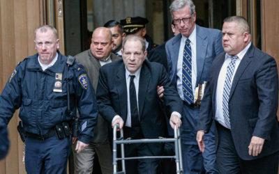 Скандалы и криминал: Прокуратура заявила, о предъявлении новых обвинений Харви Вайнштейну.