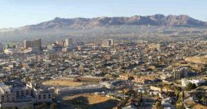 Город Сьюдад-Хуарес, Мексика.