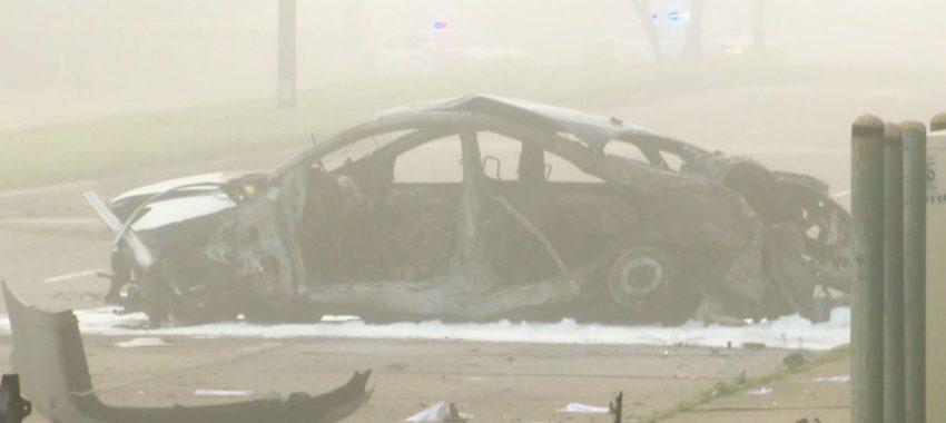 Криминальные новости: Водитель погиб рано утром в результате аварии, которую устроили два уличных гонщика