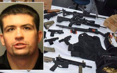 Криминальные новости: Мужчина, имевший тайник с оружием, был арестован, после того, как угрожал массовым расстрелом