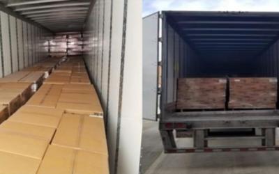 Скандалы и криминал: Полиция обнаружила почти 18 000 фунтов туалетной бумаги в украденном тракторном прицепе