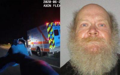 Скандалы и криминал: Мужчина, угнавшиймашину скорой помощи из больницы, был остановлен и арестован полицией