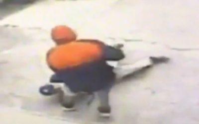 Скандалы и криминал: Впятницу полицияНью-Йорканачала розыск подозреваемого в совершении нападения на пожилого мужчину