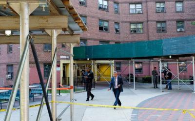 Криминальные новости: Можно только посочувствовать законопослушным жильцам комплекса Ховард Хаус