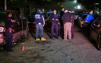 Криминальные новости: Под шквальный огонь попали пятеро молодых мужчин и спутница одного из них