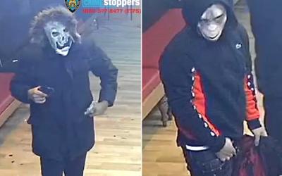 Криминальные новости: Своеобразно решили отпраздновать Хэллоуин пятеро неизвестных преступников