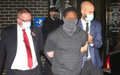 Скандалы и криминал: Патрульные арестовали на 96-й Улице 35-летнего бездомного Маркиса Вентуру