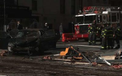 Криминальные новости: В результате столкновения двух транспортных средств в Манхэттене пострадало 7 человек