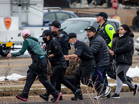 Криминальные новости: Стрельба произошла в городе Боулдер, штат Колорадо, предполагаемого преступника уже задержали