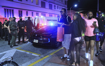 Скандалы и криминал: Власти Майами-Бич, из-за нашествия приезжих пошли на ограничительные меры.