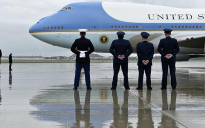 Скандалы и криминал: Идет разбирательство после того, как неизвестный погулял по авиабазе «Эндрюс»