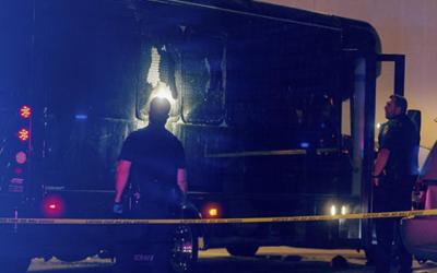 Криминальные новости: В городе Окленд, штат Калифорния, двое злоумышленников расстреляли автобус