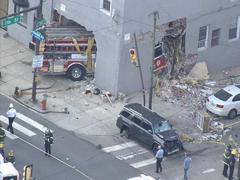 Криминальные новости: Пять человек получили травмы в результате необычного ДТП, которое случилось в Северной Филадельфии