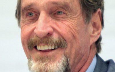 Криминальные новости: Предприниматель Джон Макафи, был найден мертвым в тюремной камере испанского города Барселоны
