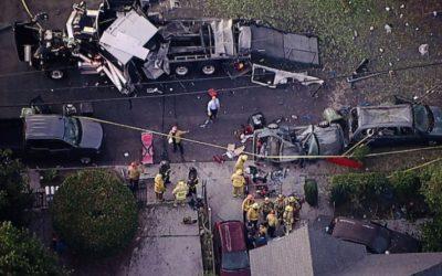 Криминальные новости: По меньшей мере 17 человек, получили ранения после взрыва незаконных фейерверков в Лос-Анджелес