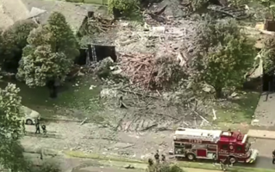 Криминальные новости: По меньшей мере шесть человек пострадали при взрыве в жилом доме в пригороде Далласа