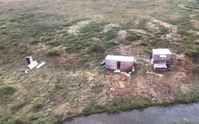 Скандалы и криминал: На Аляске мужчина на протяжении недели отбивался от охотившегося на него медведя