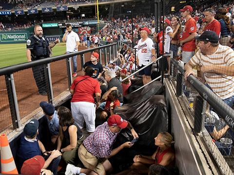 Скандалы и криминал: Хаос разразился во время бейсбольного матча