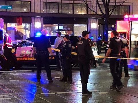 Криминальные новости: Два человека получили ранения у мексиканского ресторана в Вашингтоне